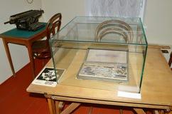 Le musée de la cosmonautique baptisé du nom de V P Glushko Images stock