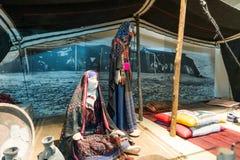 Le musée de la culture bédouine - Joe Alon Center photos libres de droits