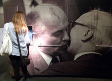 Le musée de la RDA à Berlin Photo libre de droits