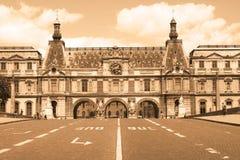 Le musée de Louvre Images libres de droits