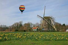 Le musée de moulin à vent à Amsterdam Images libres de droits