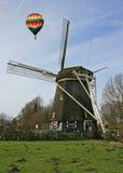Le musée de moulin à vent à Amsterdam Photos libres de droits