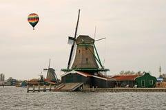Le musée de moulin à vent à Amsterdam Photo stock