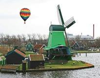 Le musée de moulin à vent à Amsterdam Photographie stock libre de droits