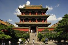 Le musée de palais de Shenyang images libres de droits