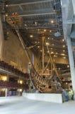 Le musée de Vasa à Stockholm Suède Photos stock