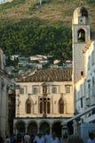 Le musée de ville de Dubrovnik Image stock