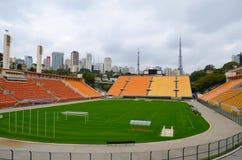 Le musée du football est un espace consacré aux différents sujets impliquant la pratique, l'histoire et le cabot, Sao Paulo, Braz image stock