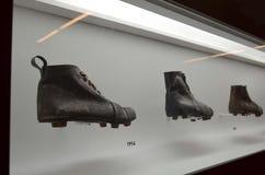 Le musée du football est un espace consacré aux différents sujets impliquant la pratique, l'histoire et le cabot, Sao Paulo, Braz images libres de droits