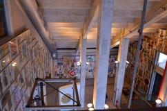 Le musée du football est un espace consacré aux différents sujets impliquant la pratique, l'histoire et le cabot, Sao Paulo, Braz photographie stock libre de droits