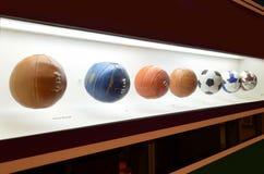 Le musée du football est un espace consacré aux différents sujets impliquant la pratique, l'histoire et le cabot, Sao Paulo, Braz photo stock