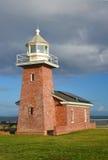 Le musée et le phare Santa Cruz du surfer Images stock