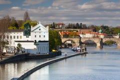 Le musée Kampa est une galerie d'art moderne à Prague Images stock