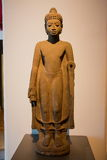 Le Musée National Bangkok, vieux Bouddha en pierre Photos libres de droits