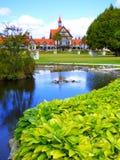 Le musée, Rotorua Photographie stock