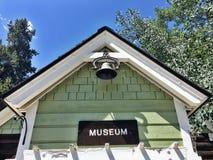 Le musée se connectent le bâtiment vert photo libre de droits