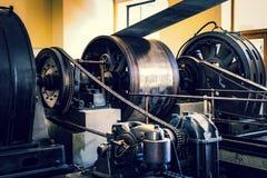 Le musée technique technologique baptisé du nom de Leonardo Da Vinci Department, eexposition est consacré au buil d'industrie lou photo stock