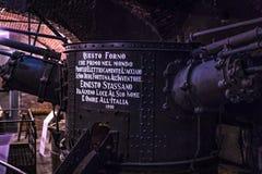 Le musée technique technologique baptisé du nom de Leonardo Da Vinci Department, eexposition est consacré au buil d'industrie lou photographie stock
