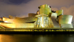 Le musée de Guggenheim à Bilbao Photos stock