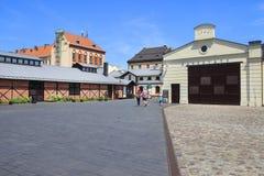 Le musée de l'ingénierie municipale à Cracovie, Pologne Photos stock