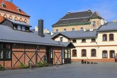 Le musée de l'ingénierie municipale à Cracovie, Pologne Images libres de droits