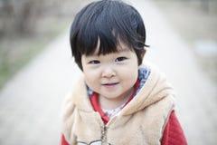 Nätt lite kinesisk flicka Arkivbilder