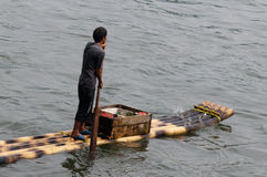 Le négociant #2 de radeau de fleuve Photo stock