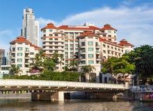 Le négociant Court Hotel de Swissotel à Singapour Photo stock