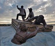 Le négociant Memorial - Sydney - Nova Scotia - Canada Photographie stock
