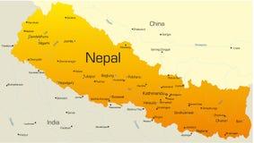 Le Népal illustration stock