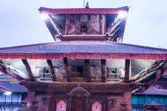 Le Népal coloré : les temples, les places et les pagodas de Katmandou ont construit dans les traditions commençant comme stupa As Photo libre de droits
