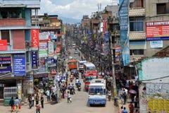 Le Népal Katmandou Image libre de droits