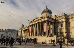 Le National Gallery, Londres Image libre de droits