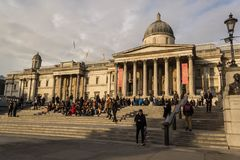 Le National Gallery, Londres Photo libre de droits