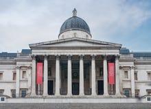 Le National Gallery sur Trafalgar Square à Londres, Kingd uni Photographie stock libre de droits