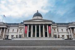 Le National Gallery sur Trafalgar Square à Londres, Kingd uni Images libres de droits