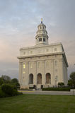 Le Nauvoo, temple de l'Illinois LDS Images stock