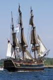Le navi alte sfidano 2010 - bontà di HMS Immagine Stock