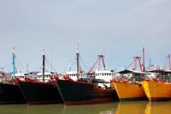 Le navi di pesca Fotografia Stock Libera da Diritti