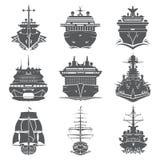 Le navi hanno messo il trasporto Fotografia Stock Libera da Diritti