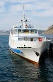 Le navire à vapeur de mer image libre de droits