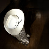 Accessori dell'uomo d'affari del cowboy fotografia stock