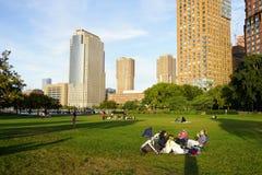 Le Nelson un parc 33 de Rockefeller photo libre de droits