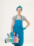 Le nettoyage est amusement photos stock