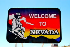 Le Nevada Photos libres de droits