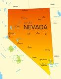 Le Nevada Images libres de droits