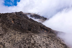 Le nevi di Kilimanjaro Fotografie Stock
