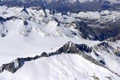 Le nevi non rovinate della molla di Adamello variano, l'Italia Immagine Stock Libera da Diritti