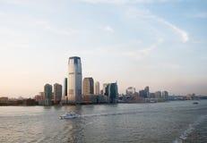 Le New Jersey et fleuve Hudson Photos libres de droits