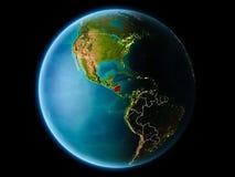 Le Nicaragua le soir Photographie stock